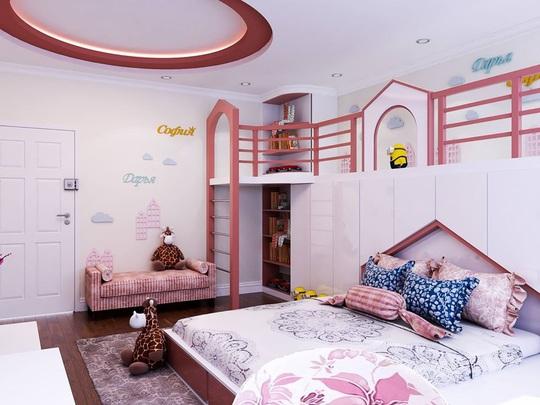 Mê mẩn với những mẫu thiết kế phòng ngủ dành riêng cho bé - Ảnh 8.