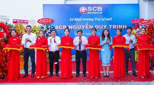 Diễn giả MC Thi Thảo dự khai trương phòng giao dịch ngân hàng SCB - Ảnh 3.