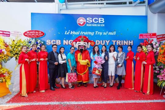 Diễn giả MC Thi Thảo dự khai trương phòng giao dịch ngân hàng SCB - Ảnh 4.