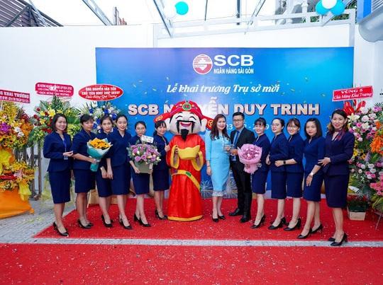 Diễn giả MC Thi Thảo dự khai trương phòng giao dịch ngân hàng SCB - Ảnh 6.