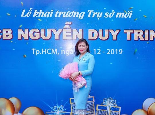 Diễn giả MC Thi Thảo dự khai trương phòng giao dịch ngân hàng SCB - Ảnh 7.