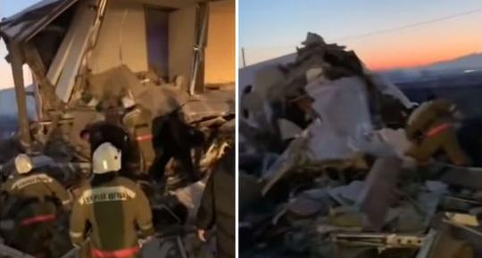 Máy bay lao liên tiếp vào hàng rào, nhà 2 tầng, 15 người thiệt mạng - Ảnh 2.