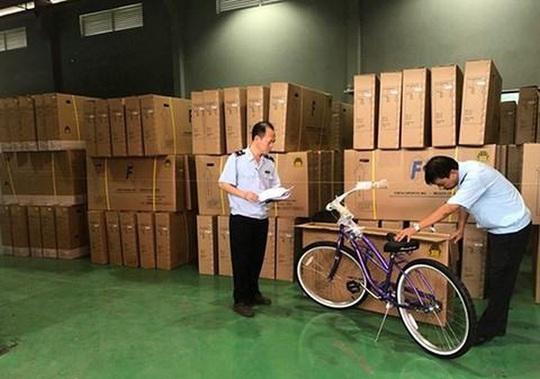 Xe đạp Trung Quốc gắn Made in Viet Nam để xuất đi Mỹ - Ảnh 1.