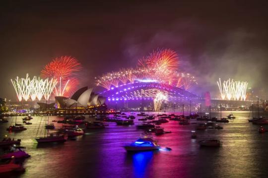 Úc vẫn rực rỡ pháo hoa mừng năm mới 2020 - Ảnh 22.