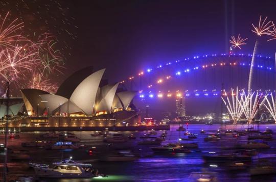 Úc vẫn rực rỡ pháo hoa mừng năm mới 2020 - Ảnh 10.