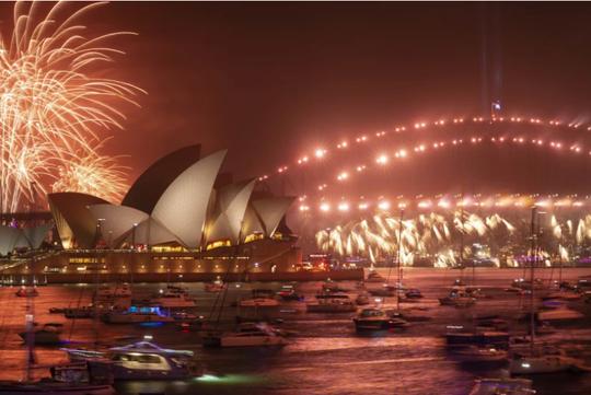 Úc vẫn rực rỡ pháo hoa mừng năm mới 2020 - Ảnh 7.