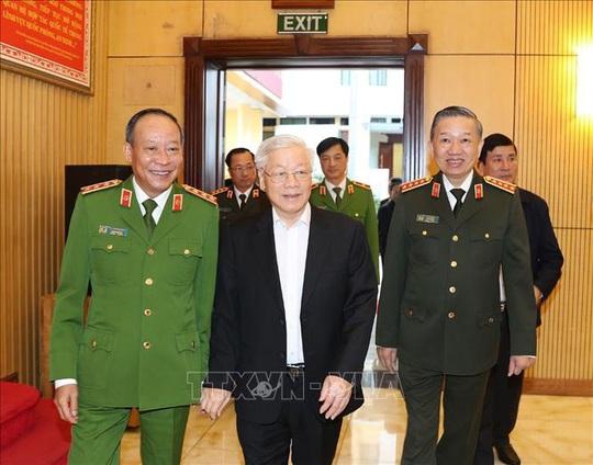 Tổng Bí thư, Chủ tịch nước: Đảng ủy Công an Trung ương phải lựa chọn thật tốt nhân sự - Ảnh 3.