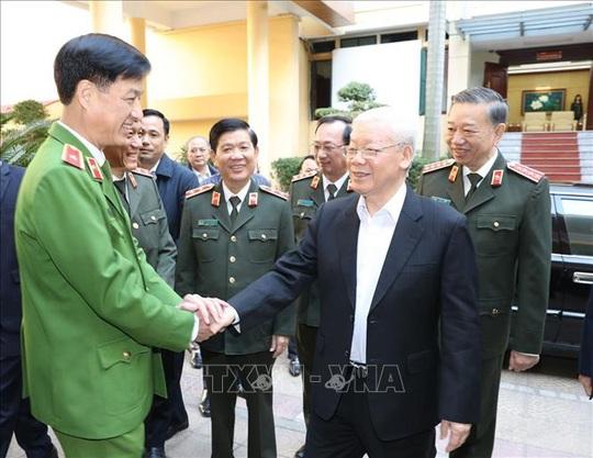 Tổng Bí thư, Chủ tịch nước: Đảng ủy Công an Trung ương phải lựa chọn thật tốt nhân sự - Ảnh 2.