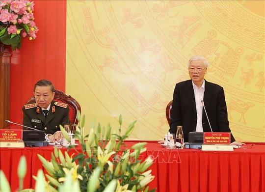 Tổng Bí thư, Chủ tịch nước: Đảng ủy Công an Trung ương phải lựa chọn thật tốt nhân sự - Ảnh 5.