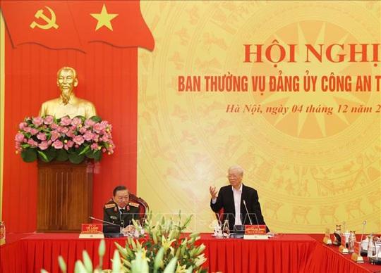 Tổng Bí thư, Chủ tịch nước: Đảng ủy Công an Trung ương phải lựa chọn thật tốt nhân sự - Ảnh 6.