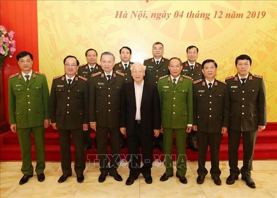 Tổng Bí thư, Chủ tịch nước: Đảng ủy Công an Trung ương phải lựa chọn thật tốt nhân sự - Ảnh 7.