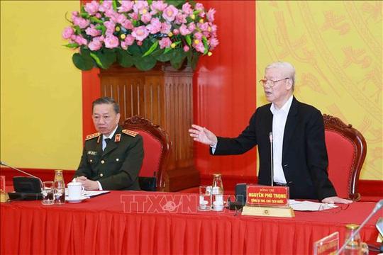 Tổng Bí thư, Chủ tịch nước: Đảng ủy Công an Trung ương phải lựa chọn thật tốt nhân sự - Ảnh 1.