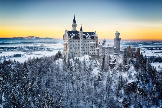 Khung cảnh tuyết phủ như xứ sở thần tiên ở châu Âu - Ảnh 7.