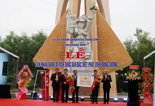 Phật viện Đồng Dương trở thành Di tích quốc gia đặc biệt - Ảnh 1.