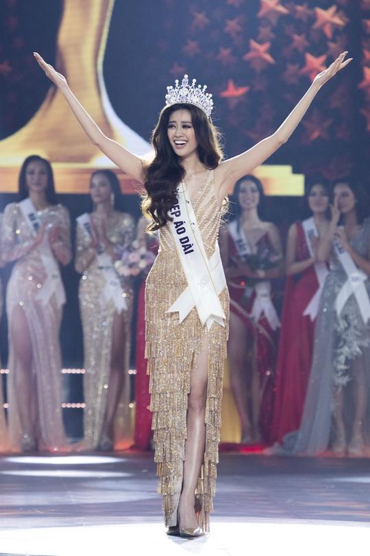 Nguyễn Trần Khánh Vân đăng quang Hoa hậu Hoàn vũ Việt Nam 2019 - Ảnh 1.