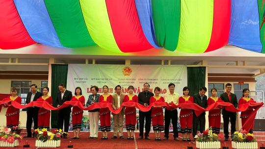 Bàn giao Công trình Bể chứa nước và Nhà vệ sinh tại tỉnh Lạng Sơn - Ảnh 1.