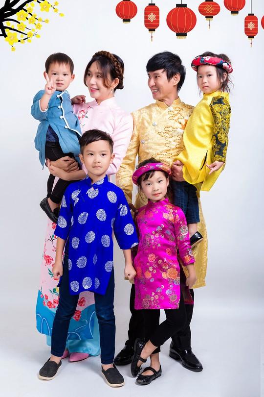 Gia đình Lý Hải - Minh Hà rực rỡ đón Xuân - Ảnh 6.
