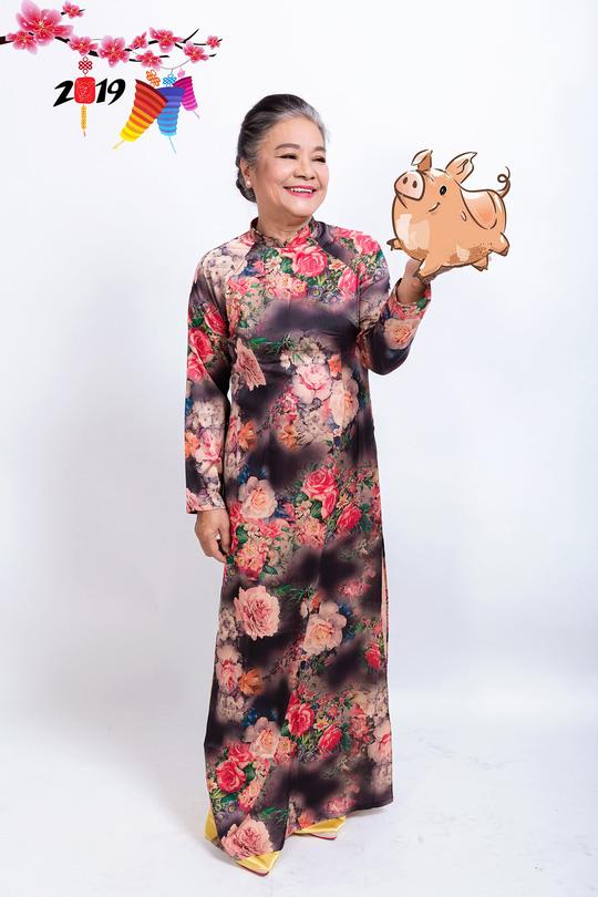 Gia đình Lý Hải - Minh Hà rực rỡ đón Xuân - Ảnh 10.