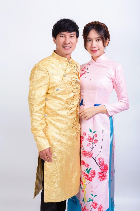 Gia đình Lý Hải - Minh Hà rực rỡ đón Xuân - Ảnh 4.