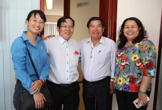 Chủ tịch LĐLĐ TP HCM chúc Tết Báo Người Lao Động - Ảnh 2.
