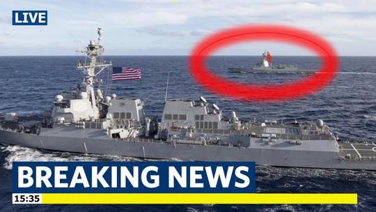Mỹ lại điều 2 tàu chiến đến biển Đông, thách thức Trung Quốc - Ảnh 1.