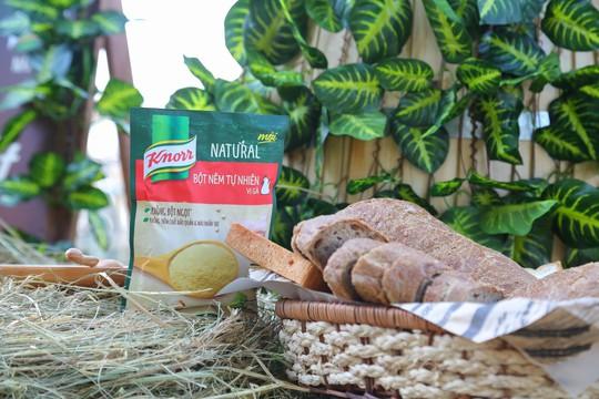 Knorr ra mắt sản phẩm bột nêm có nguồn gốc tự nhiên - Ảnh 1.