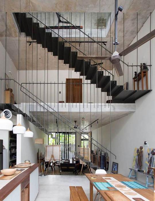 Ngôi nhà như rừng nhiệt đới với hơn 40 loại cây - Ảnh 5.