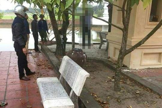 Người đàn ông chết trong tư thế treo cổ ở chùa - Ảnh 1.
