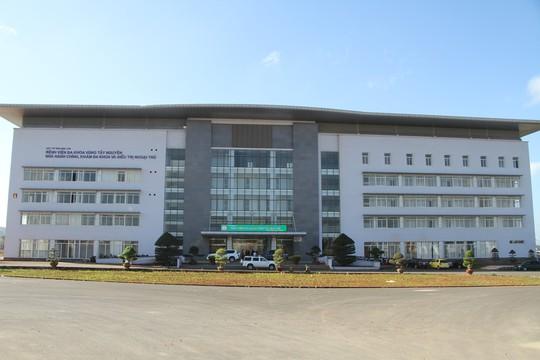 Ngắm bệnh viện ngàn tỉ hiện đại nhất Tây Nguyên sắp hoạt động - Ảnh 1.