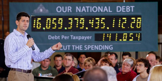 Nợ công Mỹ chạm cột mốc bất hạnh - Ảnh 1.