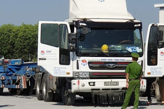Phát hiện 3 tài xế Container phê ma tuý ở TP HCM - Ảnh 2.