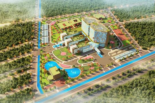FLC khởi công bệnh viện Đa khoa Quốc tế tại Thái Bình - Ảnh 1.