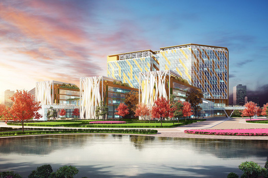 FLC khởi công bệnh viện Đa khoa Quốc tế tại Thái Bình - Ảnh 2.