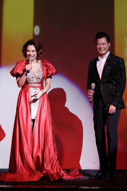 Thanh Thảo – Quang Dũng tái hợp trên sân khấu ngày tình nhân - Ảnh 1.