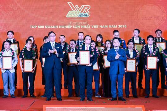 C.P. Việt Nam đứng thứ 26/500 doanh nghiệp lớn nhất năm 2018 - Ảnh 1.