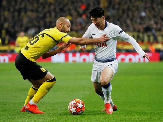 Son Heung-min tỏa sáng, Tottenham vùi dập Dortmund ở London - Ảnh 1.