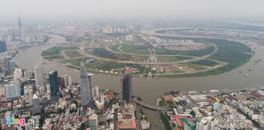 Giá nhà tại trung tâm TP HCM vẫn rẻ so với Hong Kong, Singapore - Ảnh 1.