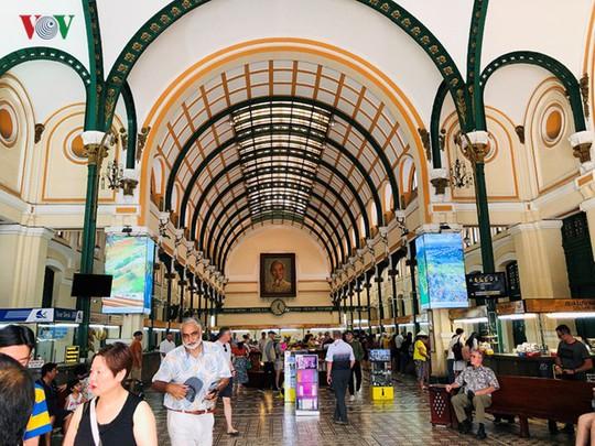 Bưu điện TP HCM - điểm đến thu hút khách du lịch quốc tế - Ảnh 9.
