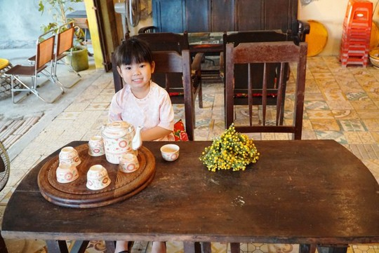 Quán cà phê dùng bu gà làm bàn cho khách ở Quảng Ngãi - Ảnh 5.