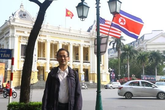 Cờ Mỹ - Triều Tiên tung bay phấp phới giữa thủ đô Hà Nội - Ảnh 5.