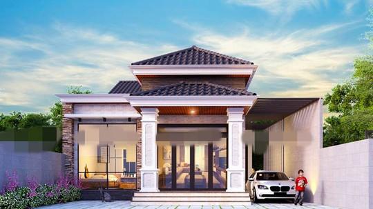 10 mẫu nhà cấp 4 từ 500 triệu đẹp nhất 2019 - Ảnh 3.