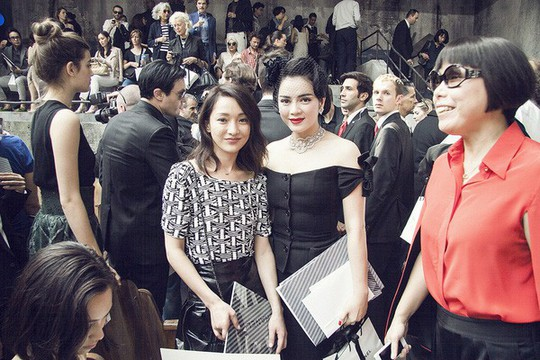 Lý Nhã Kỳ, mỹ nhân Việt duy nhất được trò chuyện với Karl Lagerfeld - Ảnh 6.
