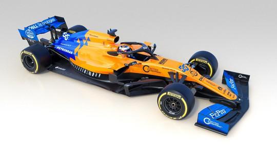 AkzoNobel khoác áo mới cho siêu xe Công thức 1 McLaren - Ảnh 1.