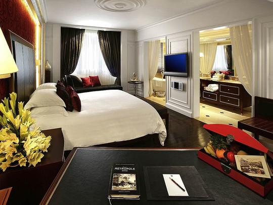 Những khách sạn ông Donald Trump từng ở khi công du châu Á - Ảnh 5.