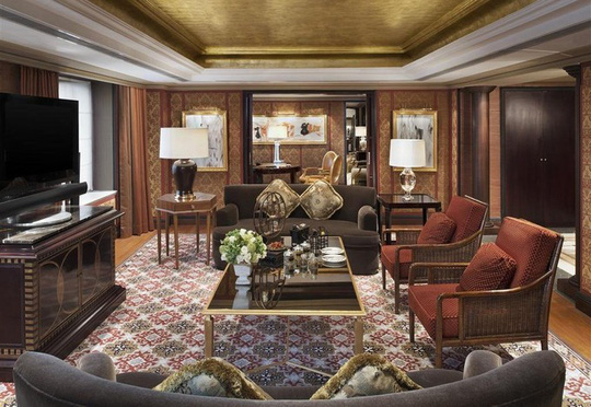 Những khách sạn ông Donald Trump từng ở khi công du châu Á - Ảnh 9.