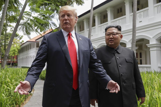 """Hai ông Trump và Kim có thể """"gặp riêng"""" ở Hà Nội - Ảnh 1."""