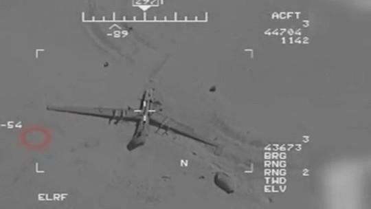 """Iran công bố video """"hack"""" và kiểm soát UAV của Mỹ - Ảnh 1."""