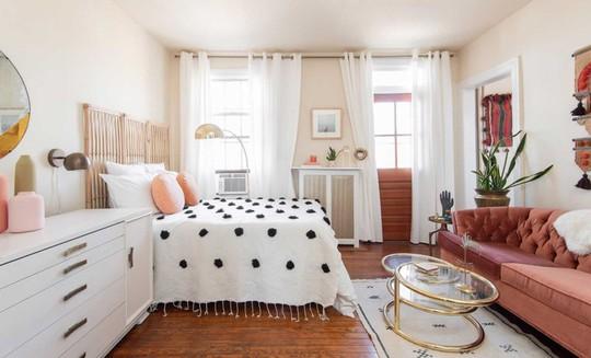 Bài trí căn hộ nhỏ cho cô nàng yêu thích màu hồng - Ảnh 1.