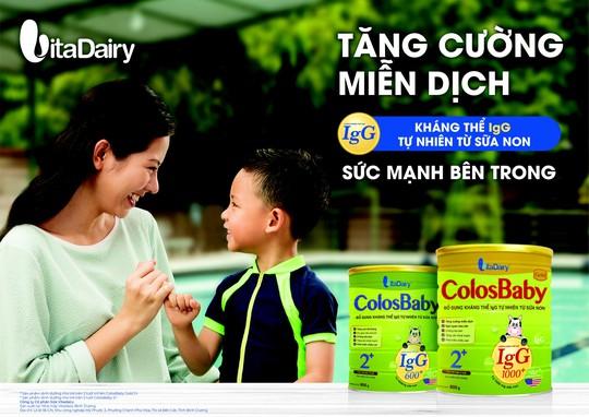 Vì sao Colosbaby là loại sữa non tiên phong tại Việt Nam - Ảnh 1.