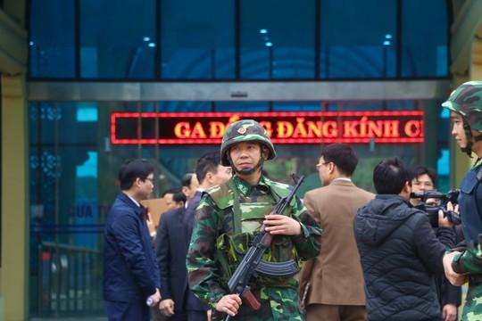 Nhiều lớp an ninh thắt chặt tối đa ở ga Đồng Đăng trước Thượng đỉnh Mỹ-Triều - Ảnh 6.